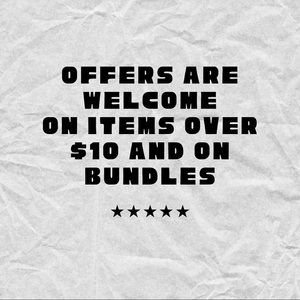 Bundles and Items Over $10